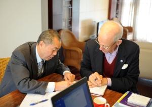 Dr. Liu & Dad