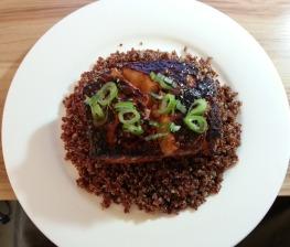 Salmon + Quinoa